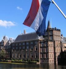 Nederlandse vlag den haag